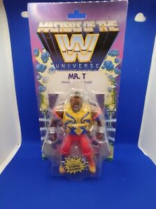 Masters Of The Universe MR. T WWE Figure By Mattel MOC 2020 Brand New