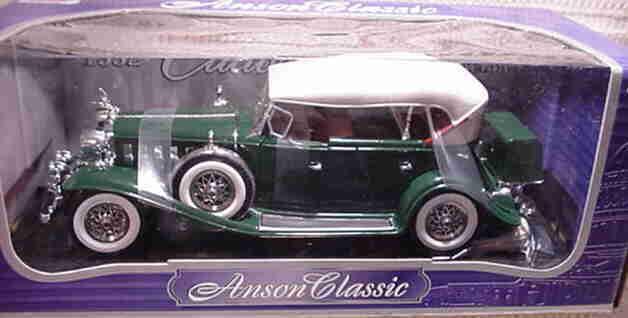 1932 ILLAC Phaeton vert 1 18 ANSON 30383