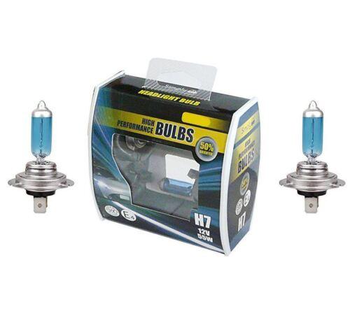 2x H7 Voiture Projecteur DIP faisceau ampoule 50/% Merc A-Classe W168, W169, W176 1997 /> 2004