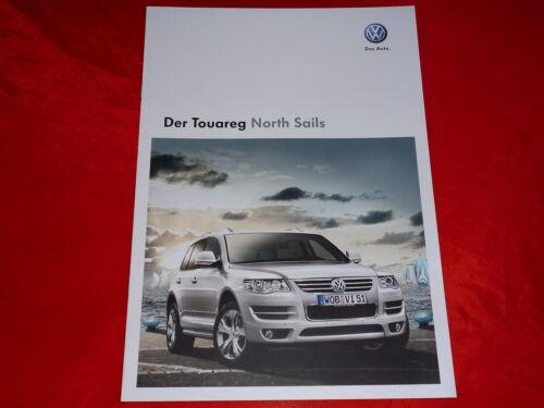 """VW Touareg /""""North Sails/"""" Sondermodell Prospekt von 2008"""