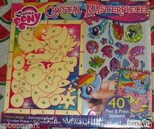 My Little Pony FIM Crystal MP Prism Sticker Puzzle Picture Art Craft! LAST ONE!!