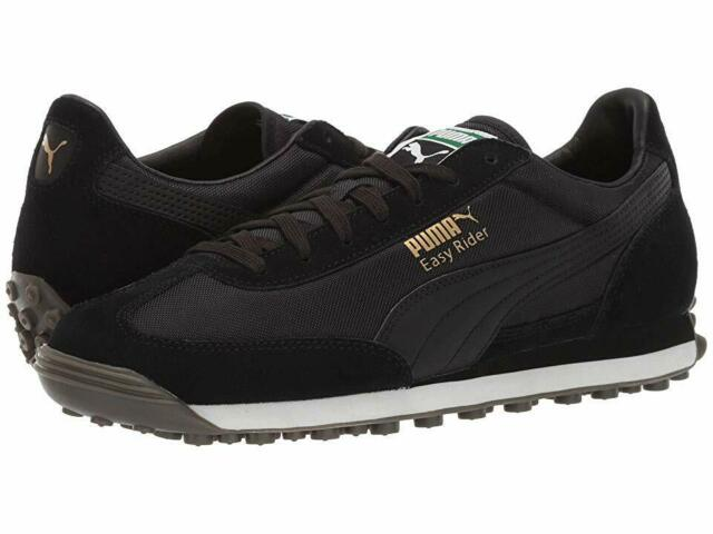 Men's Shoes PUMA EASY RIDER Fashion Sneakers 363129-14 PUMA BLACK GUM NEW