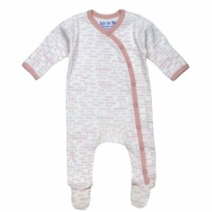 Hello-Goodbye-Print-Side-Snap-Footie-Blush-by-Under-the-Nile-Baby-Girl-Newborn