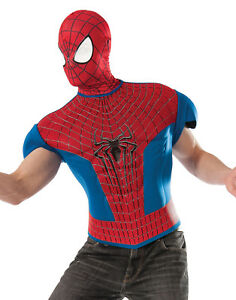 Image is loading Spider-Man-Muscle-Top-Adult-Mens-Halloween-Costume  sc 1 st  eBay & Spider-Man Muscle Top Adult Mens Halloween Costume | eBay