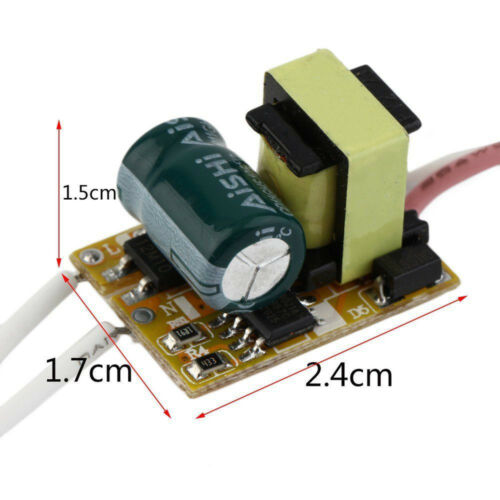 Non-waterproof LED Chip Driver Leistung Supply Driver Transformer AC 85-265V 3W