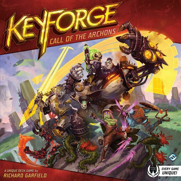 MW  KEYFORGE  CALL OF THE ARCHONS TWO PLAYER STARTER    FANTASY FLIGHT GAMES