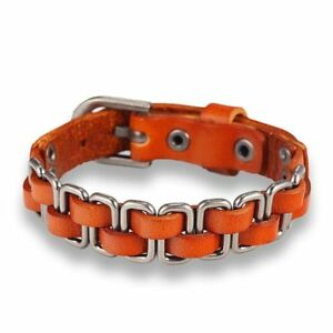 b23e1d89dec845 Image is loading Hand-knitted-Braid-Leather-Bracelet-Men-Friendship-Charm-