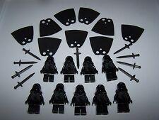 LEGO® custom minifigure RINGWRAITH lot hood lotr sword black nazgul hobbit cape