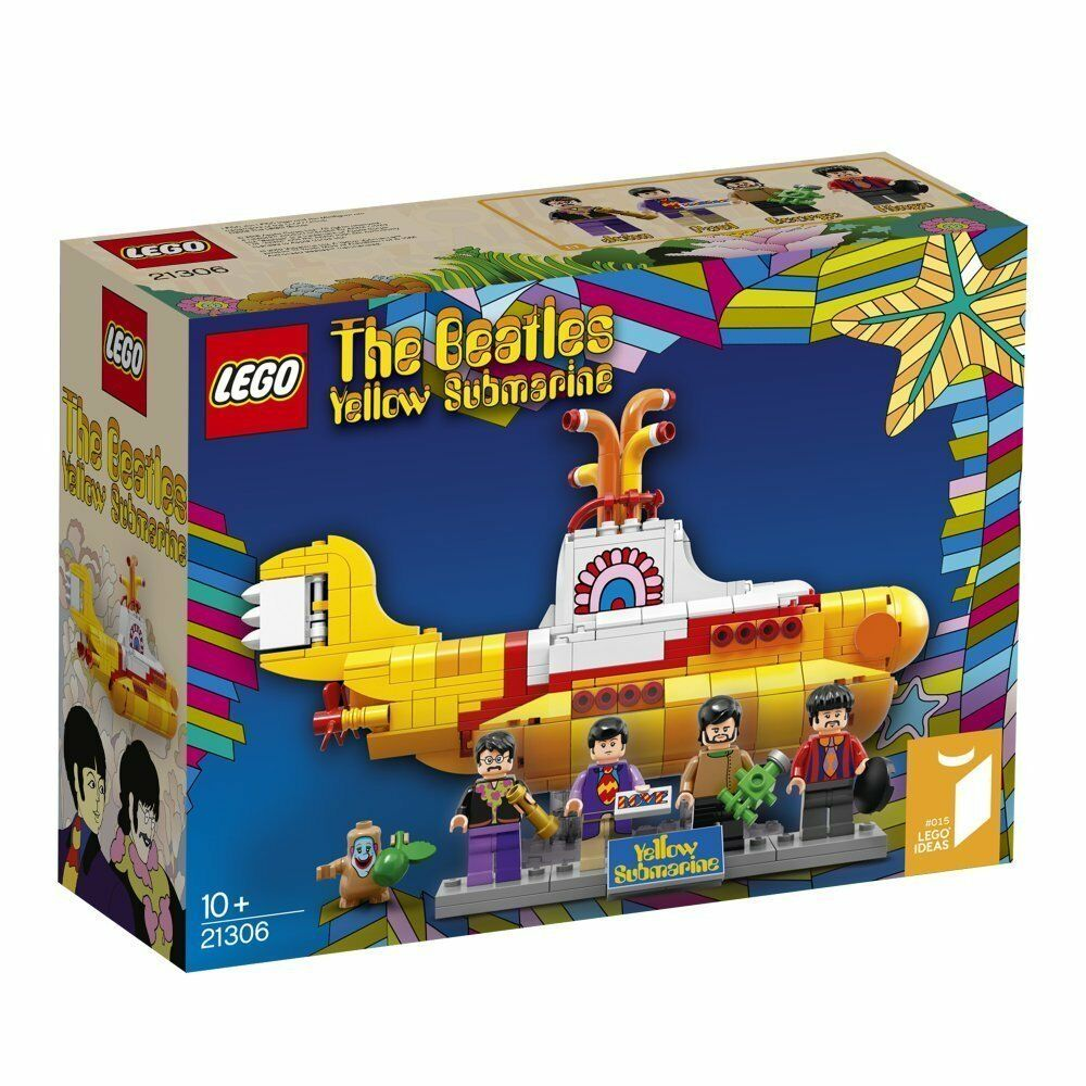 LEGO Ideas (21306) The Beatles -Yellow Submarine (Brand New & Factory Sealed)