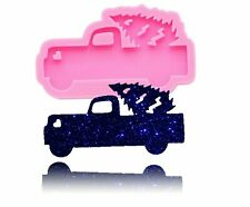 Shiny Car Shape Silicone Mould For Diy Truck Epoxy Keychain Resin Craft Mold Ebay