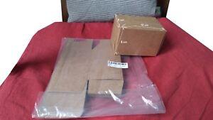 10 Boîtes En Papier Kraft
