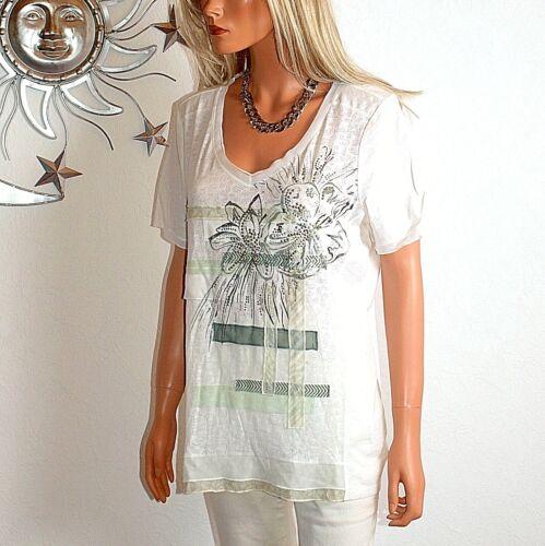 ஜ Taglia Nuovo Shirt Everglades Light 40 Biba Longshirt Summer 42 Off White vqfcWAPy