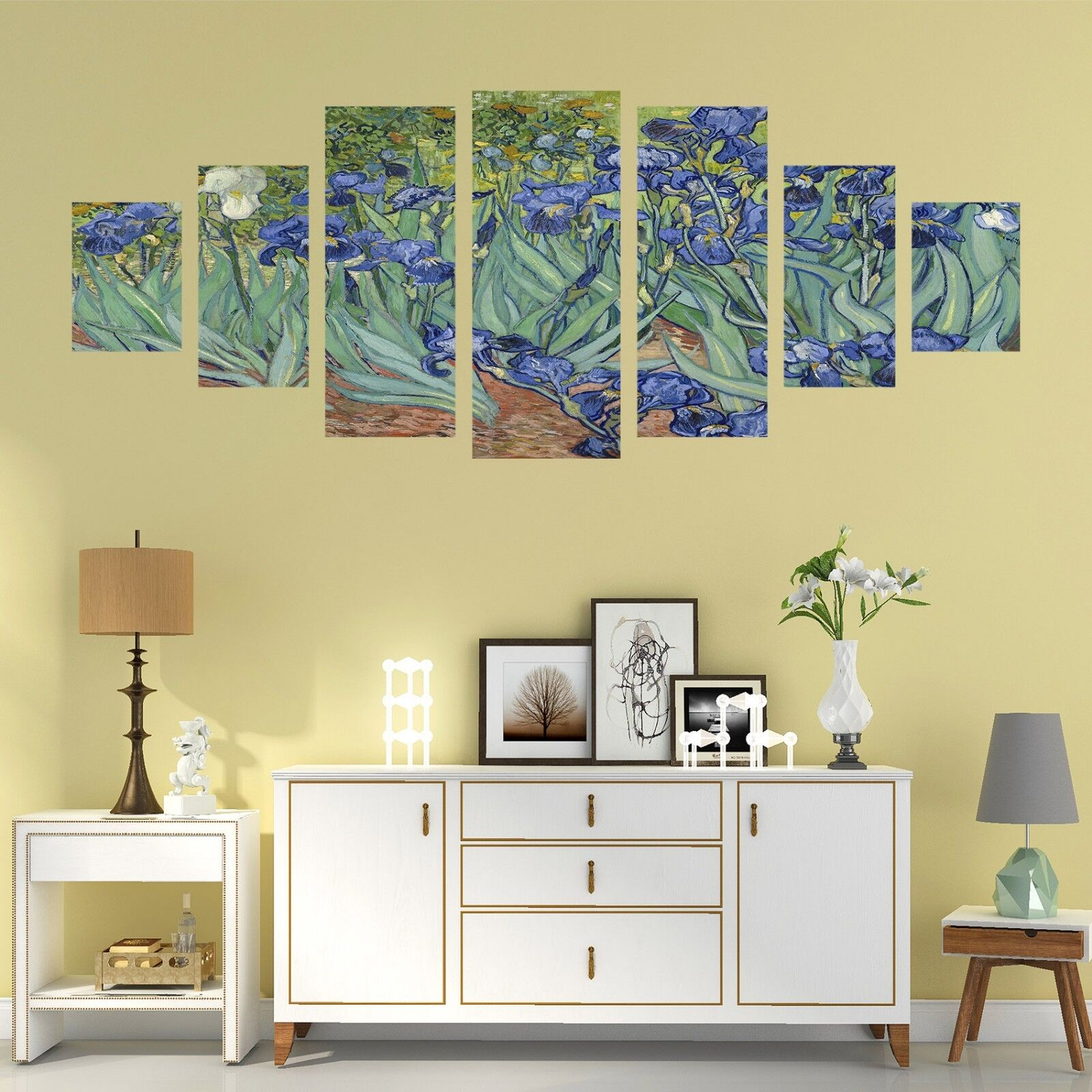 3D Painted Flowers 578 Unframed Print Wall Paper Decal Wall Deco Indoor AJ Wall