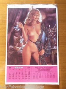 Calendario Play Boy.Details About 1981 Playboy Calendar Calendar Kalender Calendrier Monique St Pierre Vintage Show Original Title