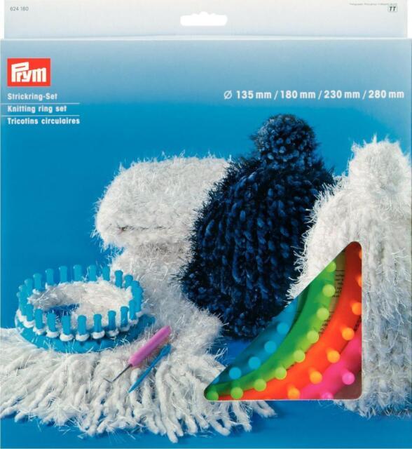 Strickring-Set Prym 624160 Strickring Set Strick Ring 135 180 230 280 mm