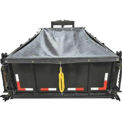 Buyers Products DTR6518 Aluminum Tarp System With Mesh Tarp 6-1//2 x 18 Foot