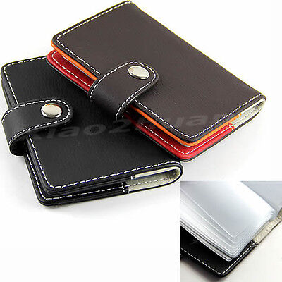 New Synthetic Leather Business Name ID Credit Card Holders Cases Wallet 20 Slots