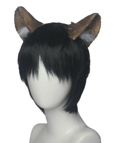 Twisted Wonderland Cosplay Costume Savanaclaw Ruggie Bucchi Ears Tail With Belt