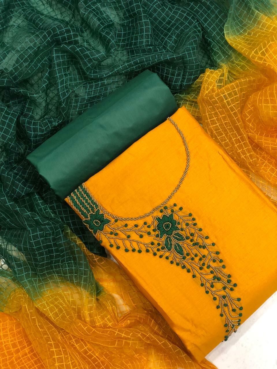 Salwar Kameez Bollywood Designer Embroidery Work Shalwar Suit Dress Party Wear