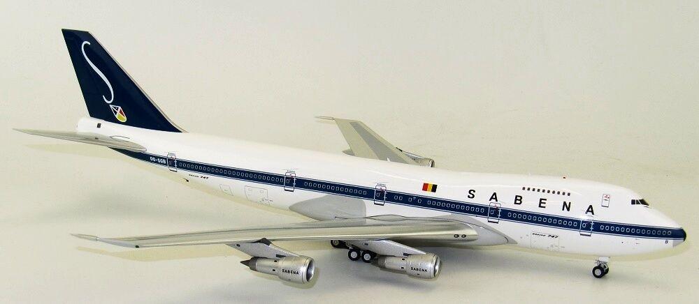 Inflight 200 IF7410716 1 200 Sabena Boeing 747-100 OO-SGB con Soporte