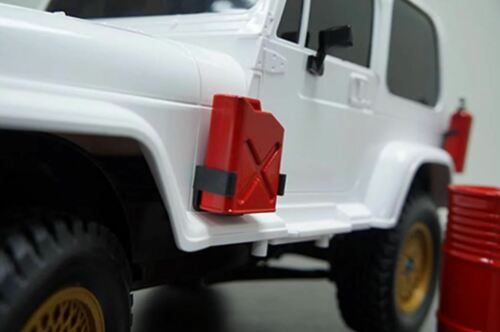 """Fuel Cans Red Yeah Racing 0355 1//10 Crawler Scale /""""Jerry Can/"""" Accessory Set"""