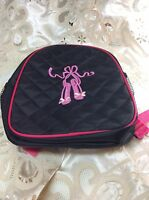 New, Girls Ballet Backpack With Pink Monogrammed Ballet Shoes