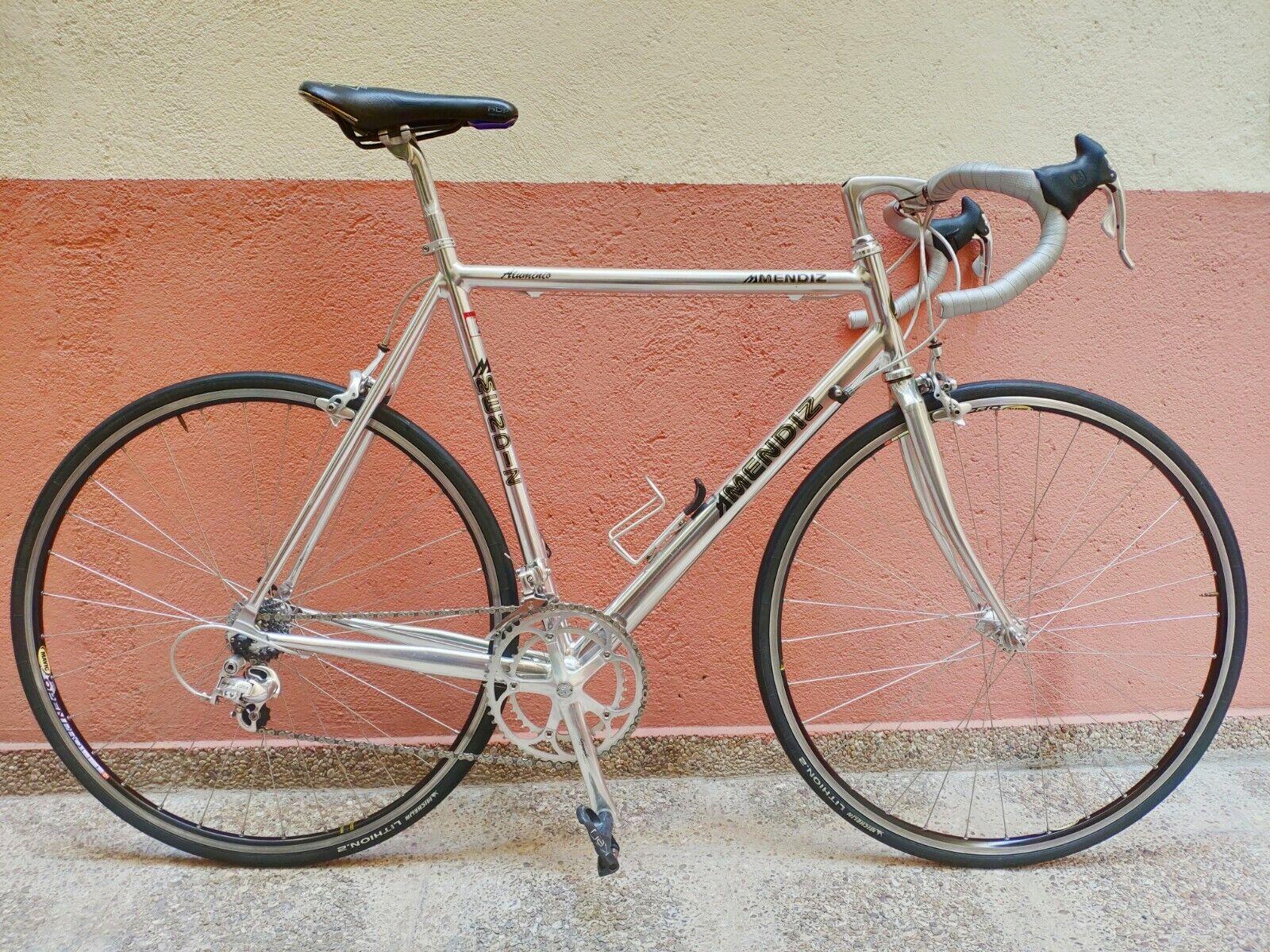 Vintage Mendiz road bike with Campagnolo Chorus/Athena groupset