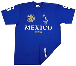 STREETWISE-NARCO-POLO-T-shirt-Urban-Streetwear-Tee-Adult-Mens-Royal-Blue-NWT