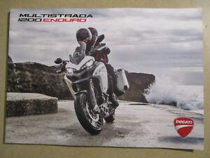 CATALOGUE MOTO : DUCATI : MULTISTRADA 1200 ENDURO 01/2017