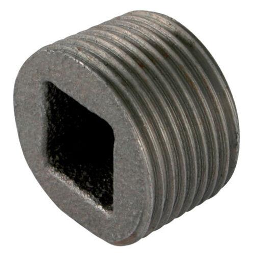 """1//2/"""" BSPP encastré Plug Black GF596 11-01023 George Fischer"""