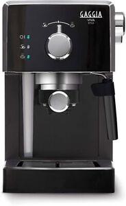 Macchina-da-caffe-Gaggia-Viva-Style-RI8433-Nero-argento-Caffe-macinato-Cialde