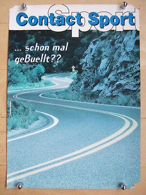 """Accessoires & Fanartikel """"..schon Mal Gebuellt?"""" Modische Muster Original Werbeposter Buell Contact Sport 50x70cm Papier"""