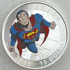 Canada 2014 $15 Iconic Superman Comic Covers Action Comics #419 1972 Pure Silver
