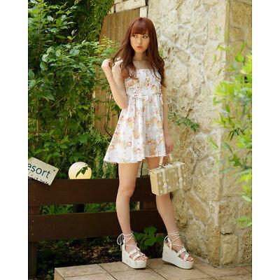 LIZ LISA - Fruit Lease Pattern Dress
