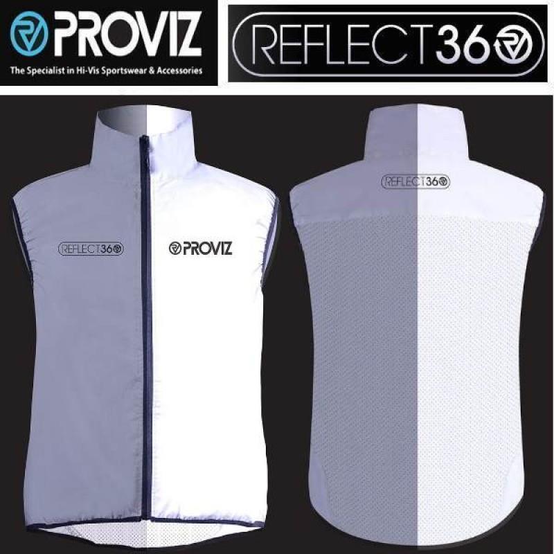 Proviz REFLECT360 Vest Gilet SUPER HIVIZ ciclismo Safety uomini PV733 XXL