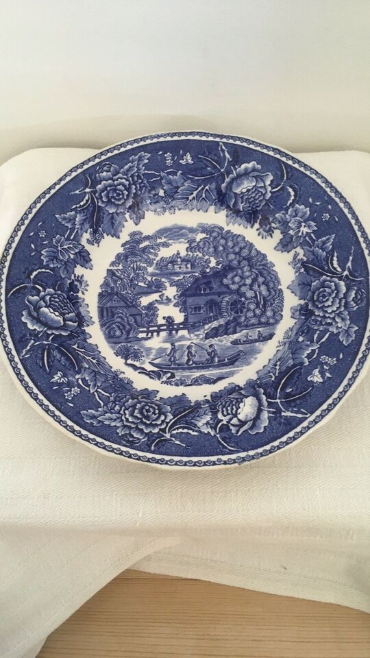 Porcelæn, Dyb tallerken , Arabiia