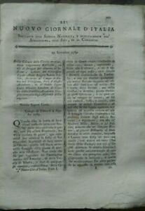 1789-RIVISTA-NUOVO-GIORNALE-D-039-ITALIA-RADICCHIO-TREVIGIANO-E-ZAFFERANO-CARTAMO
