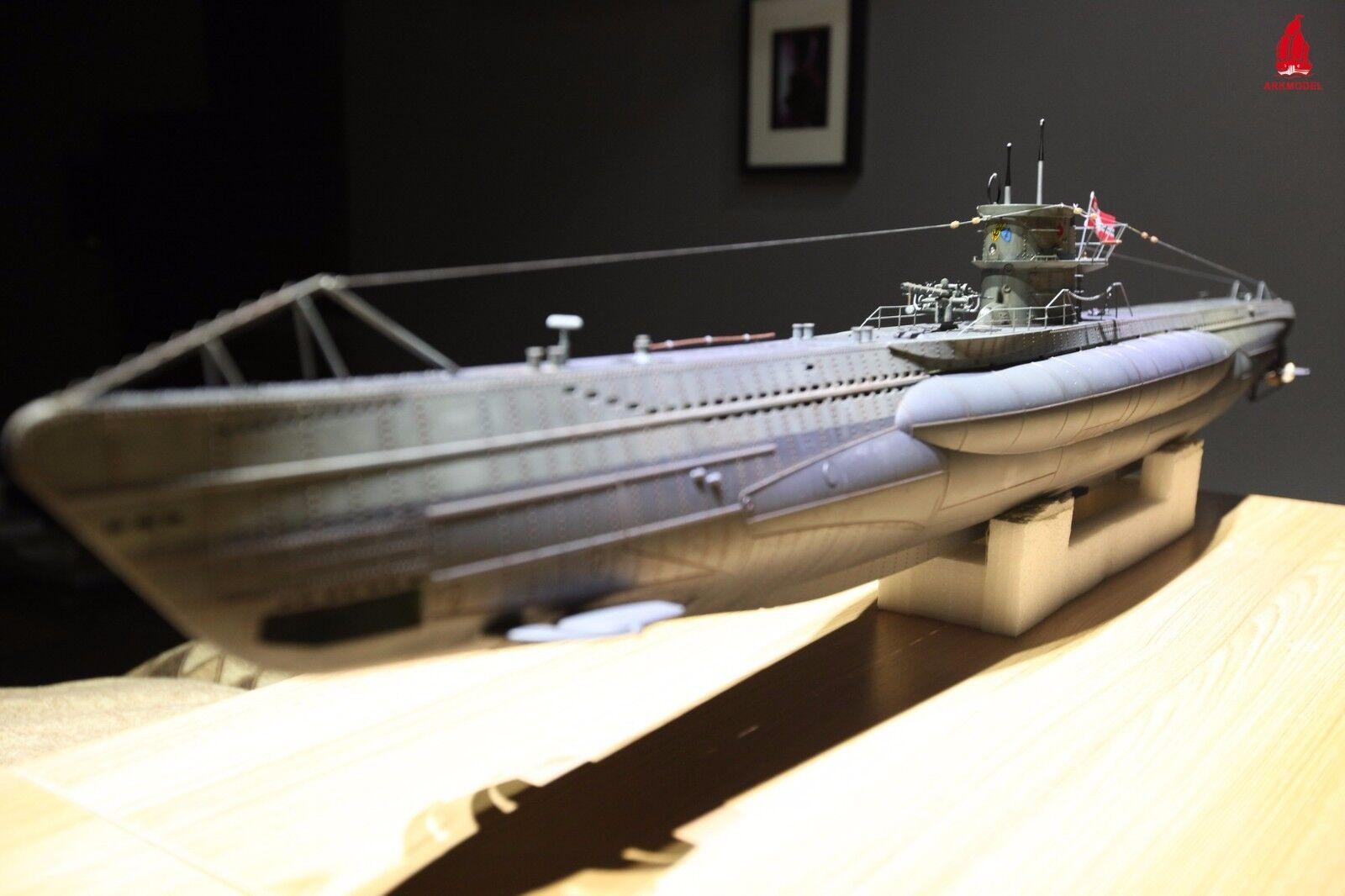 Arkmodel 1 48 VIIC KIT German U-Boat Type Boat Model Building RC Submarine Model