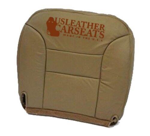 95 96 97 Chevy Silverado Suburban Driver Bottom Leather Seat Cover Neutral Tan