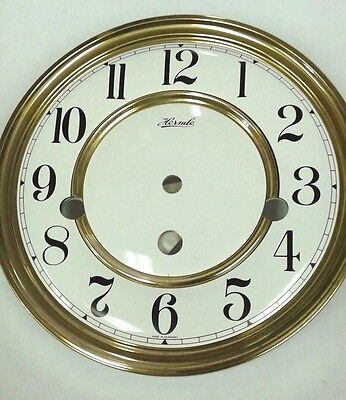 Hermle clock  dial for 351-1051 movement 180mm with second hand