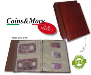 Raccoglitore-per-Banconote-e-Cartoline-con-Custodia-mod-PAPERMONEY-MasterPhil