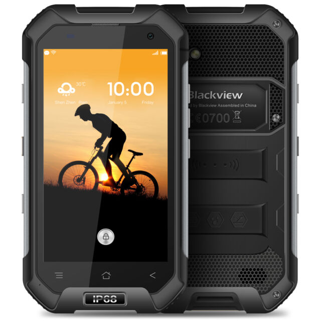 """Blackview BV6000S 4,7"""" 4G Smartphone Android Quad Core 2+16Go Waterproof NFC GPS"""