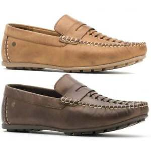 Base London Palmer Leather Loafers in n9niTvHEdj