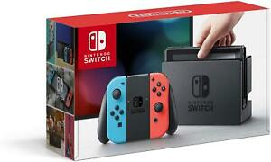 Nintendo-Switch-32GB-Console-with-Neon-Blue-Red-Joy-Cons-HAC-001-In-Box-VG