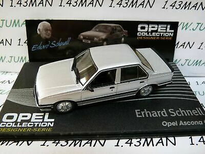 OPE121R voiture 1//43 IXO designer serie OPEL collection GT E.Schnell