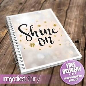 SLIMMING WORLD COMPATIBLE FOOD DIARY - Shine On (S048W) 12wk weight loss journal