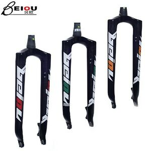 Carbon-fiber-bicycle-front-rigid-fork-disc-brake-for-26-29-039-in-mtb-mountain-bike
