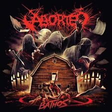 "Aborted ""Bathos"" clear vinyl EP [Brutal Gore Death Metal from Belgium, 2017]"