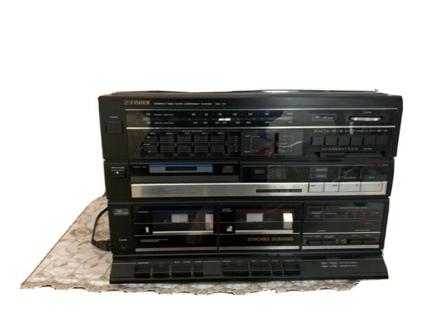 Cassette Deck Radio Player From 1986