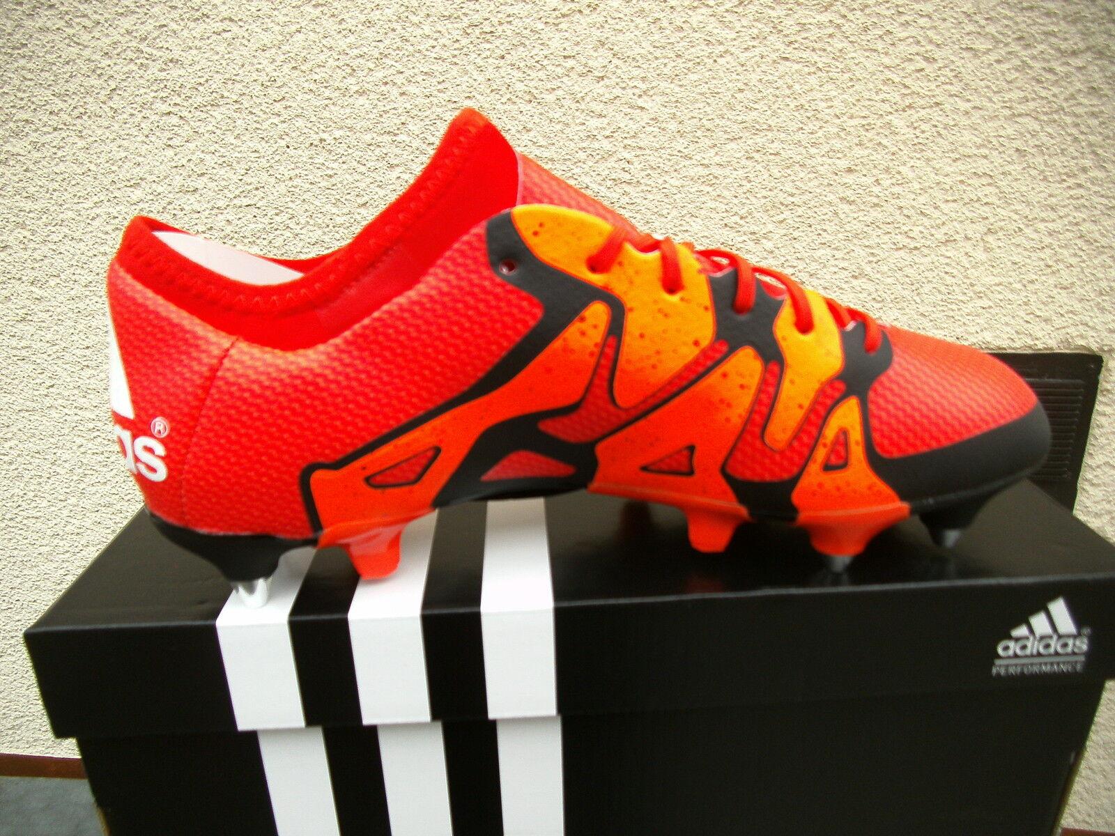 Adidas X 15.1 15.1 15.1 SG Stollenschuhe  Gr. 42   Orange  (S 83168)  NEU    Neues Design  efdd84